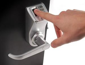 Применение биометрических замков