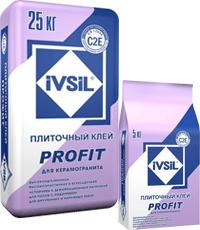 Клей для керамогранитной плитки и керамогранита IVSIL PROFIT