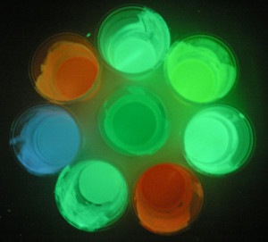Где применять светящуюся краску