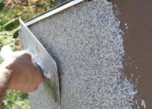 Использование каменной крошки