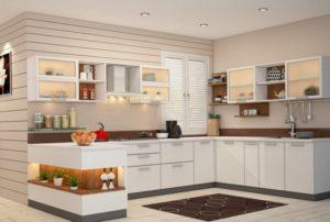 Высококачественные кухонные шкафы
